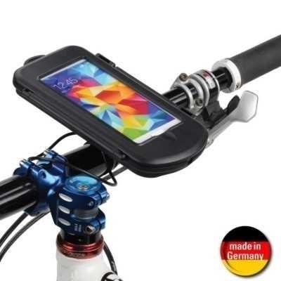 Fahrrad Motorrad Outdoor Case + Halter f. Samsung Galaxy S6