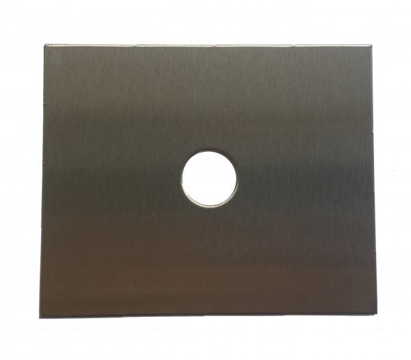 Edelstahl Türklingel - Klingelplatte 110x90mm