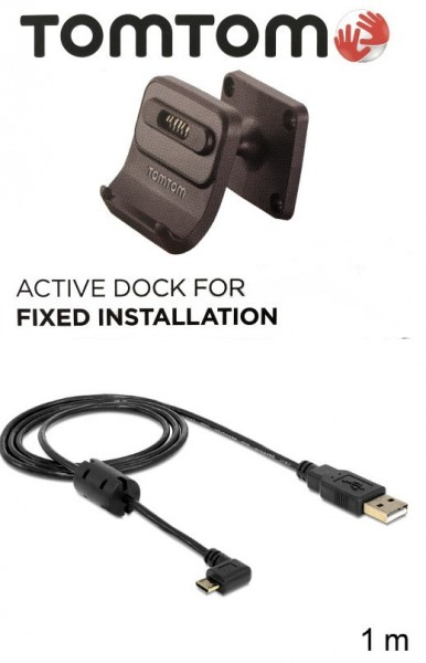 TomTom TomTom Autohalter Schraubbar f. TomTom GO 6200 + USB Ladekabel