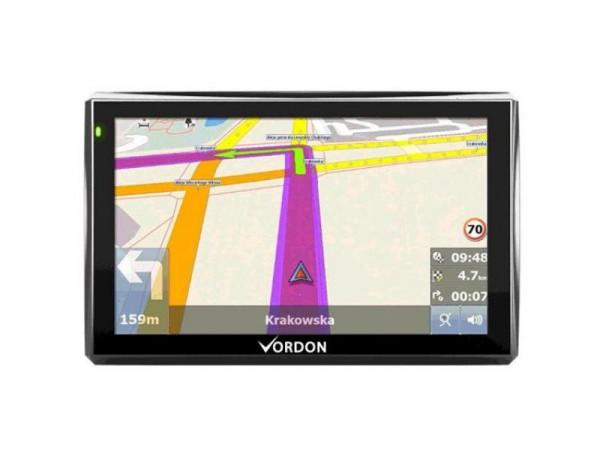 Navigationssystem 5 Zoll 12,7 cm Europa (42 Länder) von Vordon