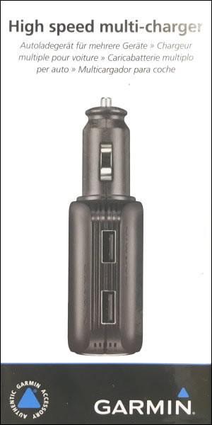Garmin Auto USB Multiladegerät f. Garmin nüvi 1390Tpro
