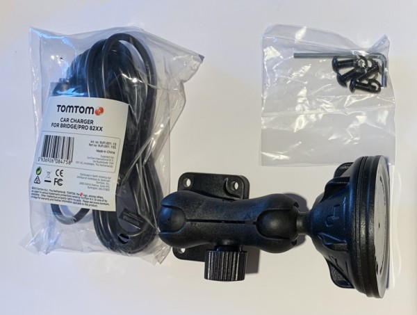 Halterung mit Autoladekabel f. TomTom PRO 8275 Truck
