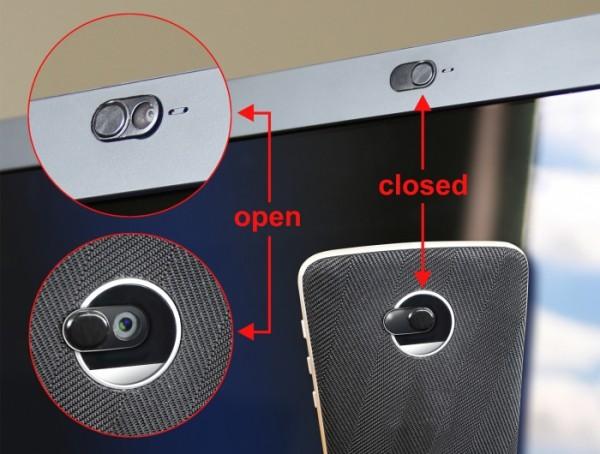 Webcam Abdeckung für Notebook, Tablet und Smartphone 3 Stück