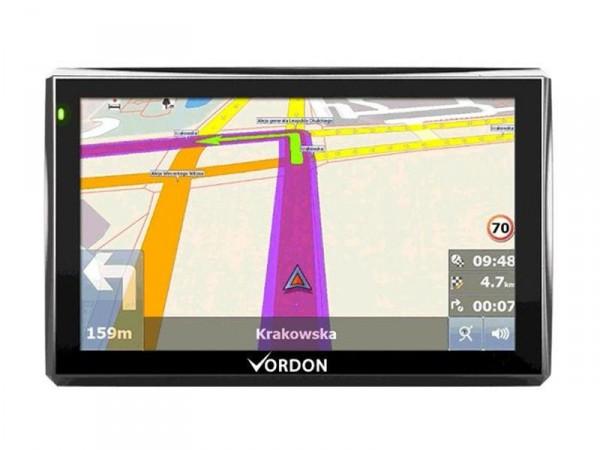 Navigationssystem 7 Zoll  17,8cm Europa (42 Länder) von Vordon