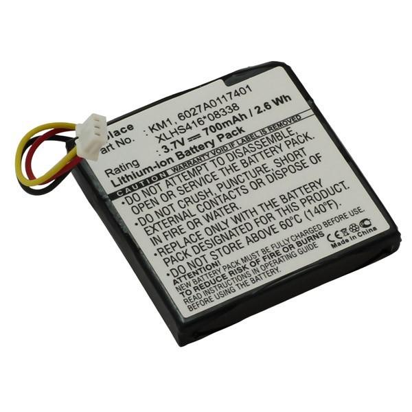 Akku, Batterie f. TomTom XLHS416*08338